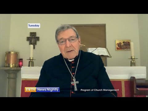 Cardinal George Pell helps launch initiative aimed at Vatican financial reform   EWTN News Nightly
