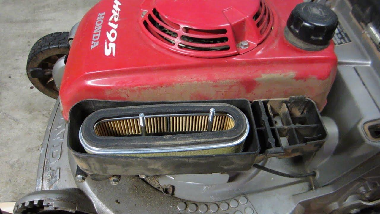 Honda Hr195 Carburetor Cleaning Lawn Mower Repair The Fix Part Ii Feb 14 2017