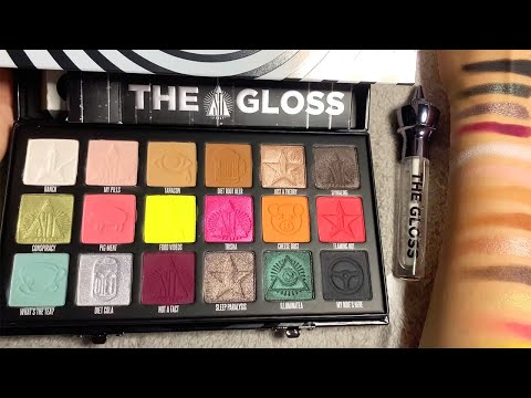 ASMR Shane Dawson x Jeffree Star Conspiracy Makeup Haul (Whispered) thumbnail