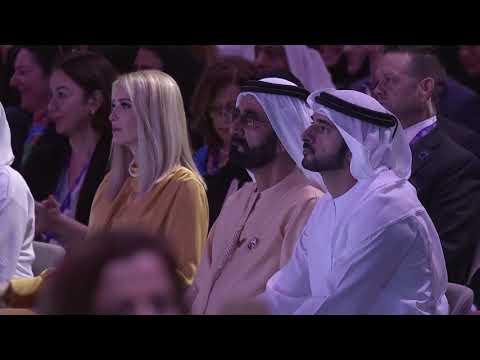 HE Mona Al Marri, Kristalina Georgieva, David Malpass & Ivanka Trump-Global Women's Forum Dubai 2020