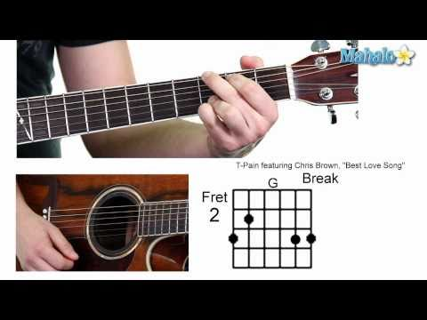 "How to Play ""Best Love Song"" by T-Pain Featuring Chris Brown on Guitar (Whole Lesson)"