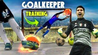 3 Teknik Latihan Kiper !! Cara menjadi Kiper Futsal/Sepakbola Terbaik