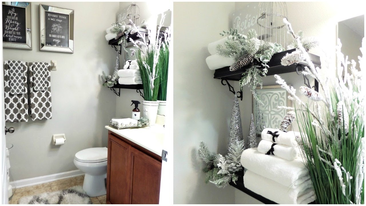 decorating your bathroom ideas new guest bathroom tour tips decor ideas to get your bathroom guest ready for the holidays 8287