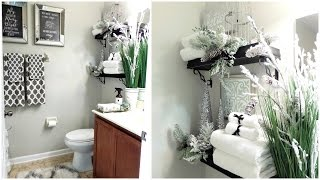 NEW! Guest Bathroom Tour | Tips & Decor Ideas to Get Your Bathroom Guest Ready for the Holidays🛁🚿