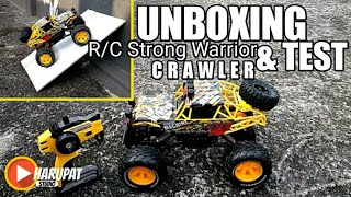 MOBIL REMOT OFFROAD UKURAN BESAR, CRAWLER 4X4, MONSTER JEEP ROCK | UNBOXING & TEST