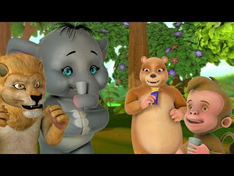 Akkad Bakkad Bambe Bo & many More | Hindi Rhymes for Children | Infobells