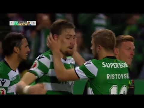 Sporting (1)-0 FC Porto (Taça Portugal): Golo de Coates