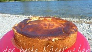der beste Käsekuchen! cremig und so lecker! homemade Cheesecake | Rezept | Creatory