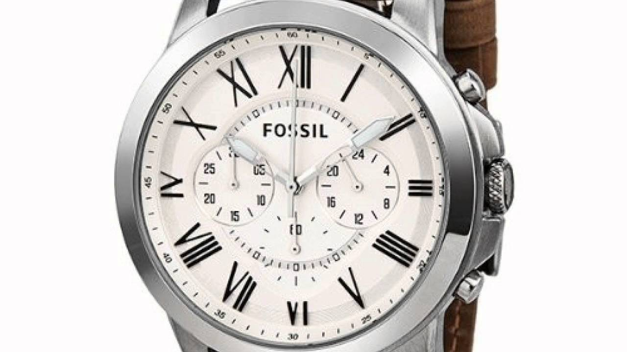 Connu Fossil FS4735 - Montre-en-main.fr - YouTube EJ03