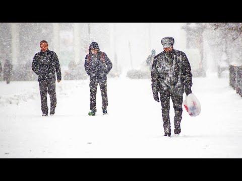 Первый снег в Армении. Погода в СНГ