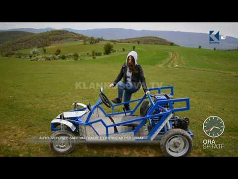 Ora 7 -  Automobil fshati i krijuar nga Safedin Thaqi - Klan Kosova