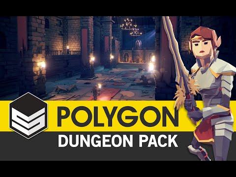 POLYGON - Dungeon Pack Trailer 4k