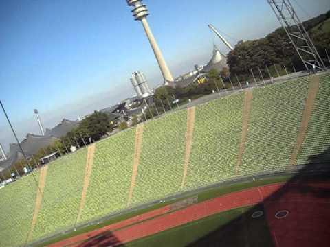 Zipline Olympic Stadium Munich 10-14-2011