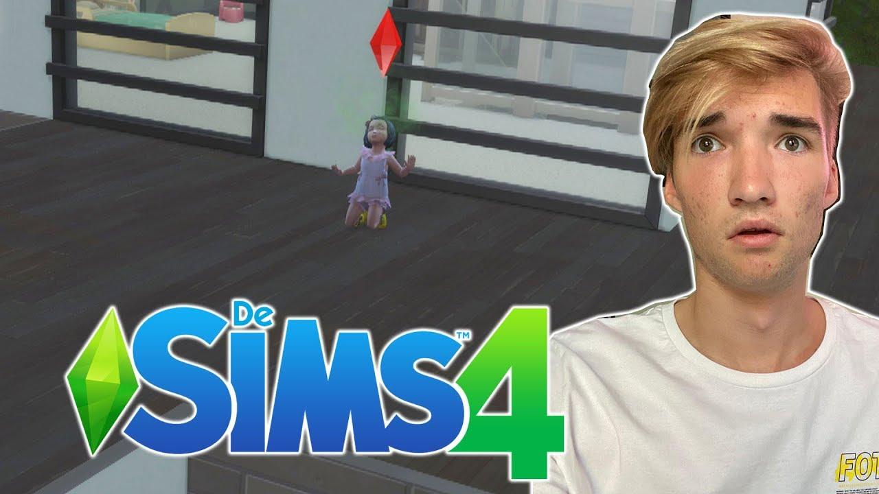 GAAT MIJN KLEUTER NOU VAN T DAK AF SPRINGEN?! - The Sims 4 #54
