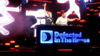Defected In The House LIVE - READY OR NOT - CopyRight Mix @ iTunes Festival 2010