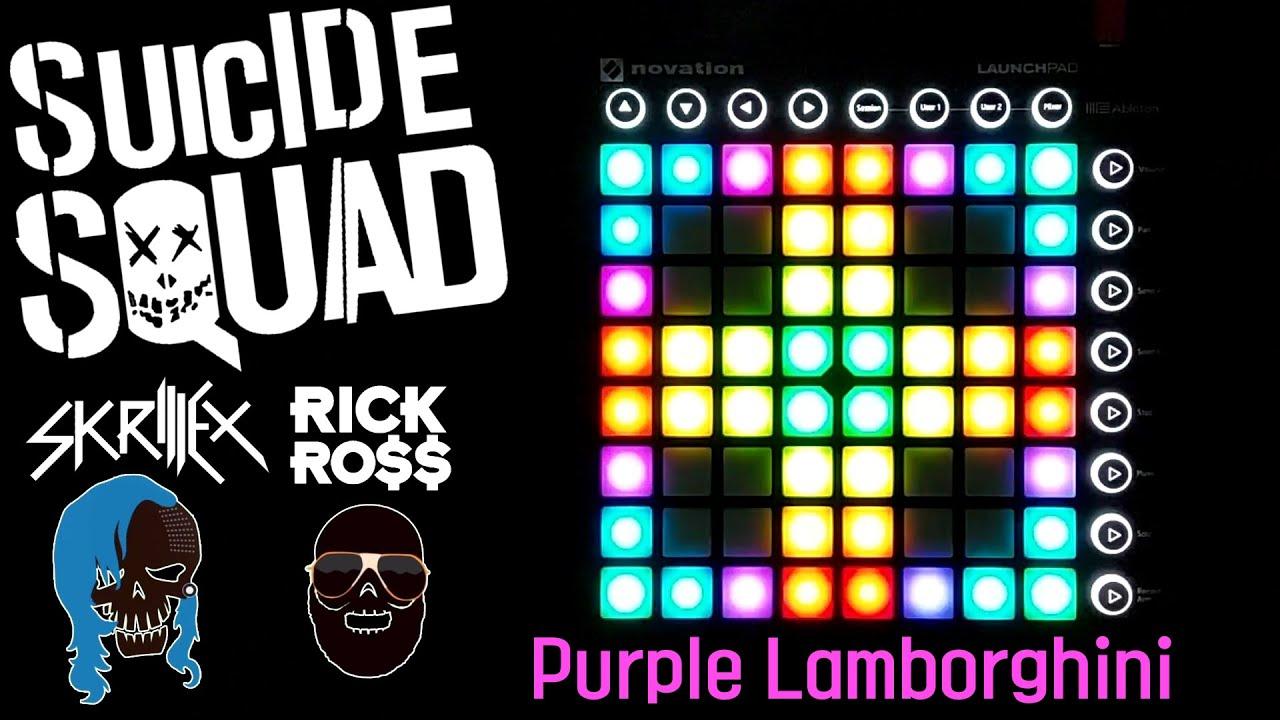 Download [Suicide Squad ost] Skrillex & Rick Ross - Purple Lamborghini Launchpad Cover