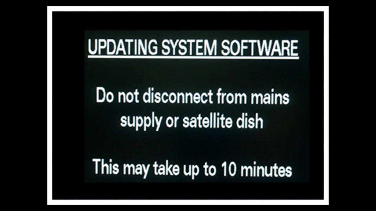 Updating sky hd firmware