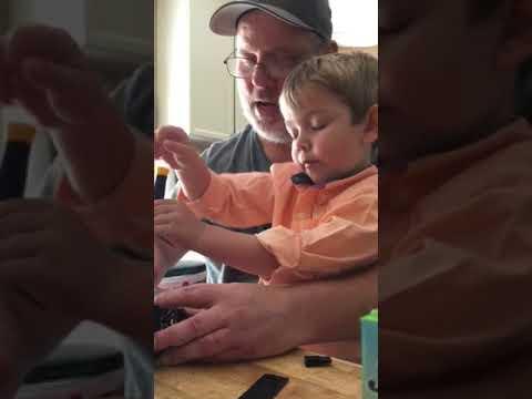 Papa & Isaac 9/2017