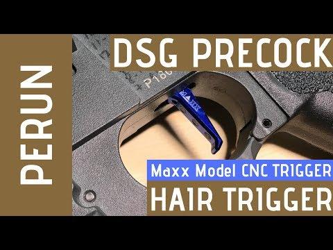 ARP9 DSG Precock Hair Trigger Response (Perun V2 Optical Mosfet and Maxx Model CNC trigger)
