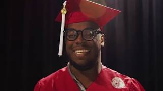 Wearing the Red Robes — NC State Graduation 2018 — Kai McNeil