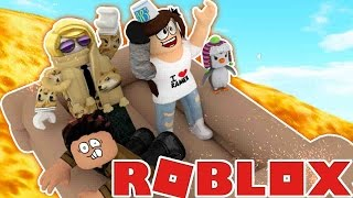 ROBLOX | EPIC RAFT RIDE DOWN A VOLCANO!!