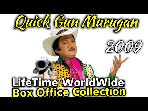 QUICK GUN MURUGAN 2009 Bollywood Movie LifeTime WorldWide Box Office Collection Hit Or Flop