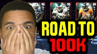 EXPOSING ALL SUBSCRIBERS!! ROAD TO 100K - MADDEN 17 DRAFT CHAMPIONS