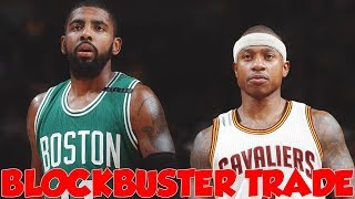 KYRIE IRVING TRADED FOR ISAIAH THOMAS!! BLOCKBUSTER TRADE REACTION!!