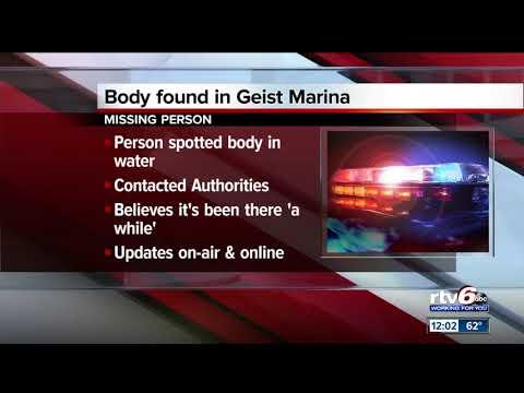 Body Found In Geist Reservoir Near Fishers