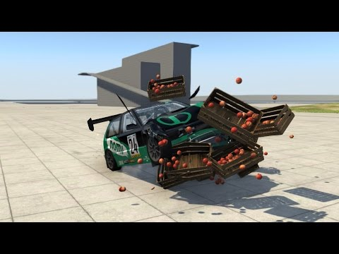 BeamNG.drive - Prop Collisions