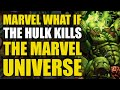 The Hulk Kills All The Superheroes and becomes Galactus New Herald World War Hulk What If 1