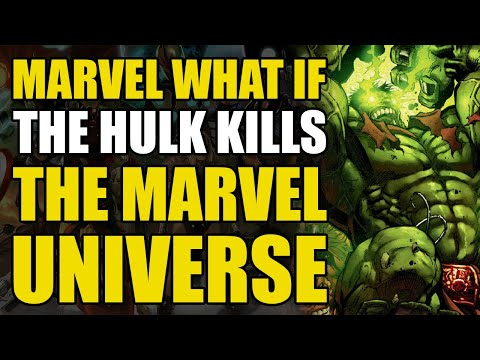 The Hulk Kills All The Superheroes and becomes Galactus