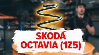 Jak wymienić Sprężyna zawieszenia SKODA OCTAVIA Combi (1Z5) - darmowe wideo online