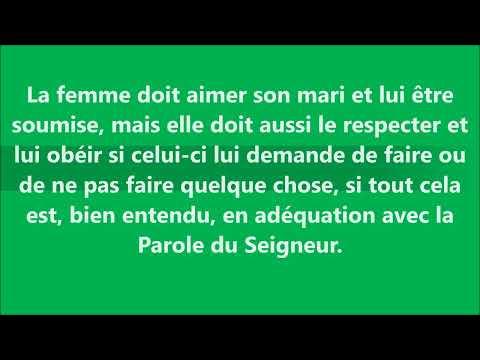 La Place de la Femme dans le Mariage