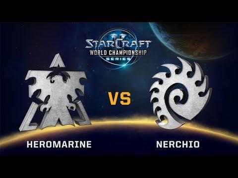 StarCraft 2 - HeroMarine vs. Nerchio (TvZ) - WCS Valencia Challenger EU - Qualifier Playoffs Lo Ro4