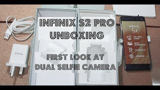 Infinix S2 Pro X522 Unboxing, Hands On and Quick Look at The Camera.