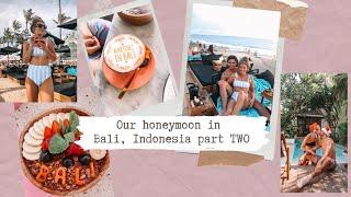Honeymoon in bali, indonesia part 2 ...