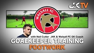 Goalkeeper Training Footwork