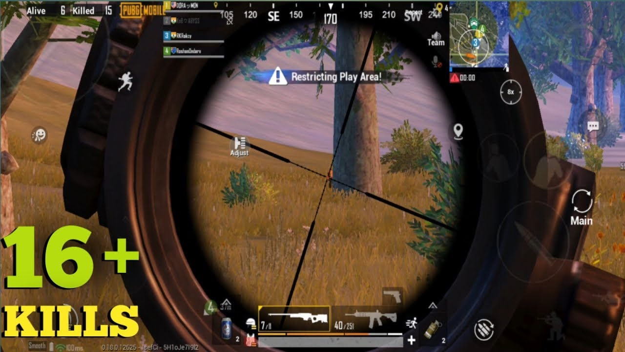 PUBG MOBILE    Playing With Random Teammates 16+ Kills    Awesome gameplay