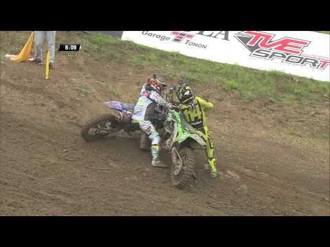 Fontanesi & Lancelot Crash at the Loket MXGP of Czech Republic