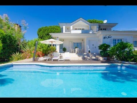 Luxury Villa, Costa Brava, Family Holiday, Private Pool, Lloret De Mar,  Spain   YouTube