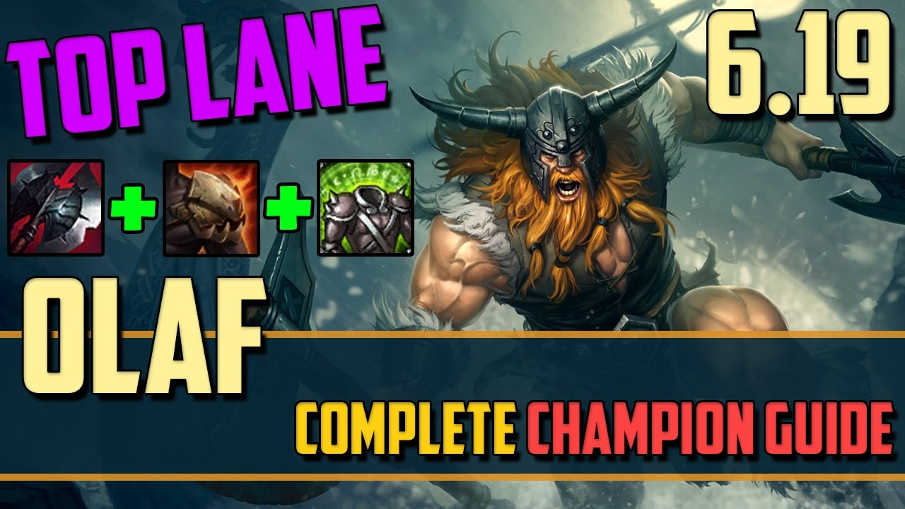Olaf: Just Try and Stop Me! - League of Legends Champion Guide - YouTube