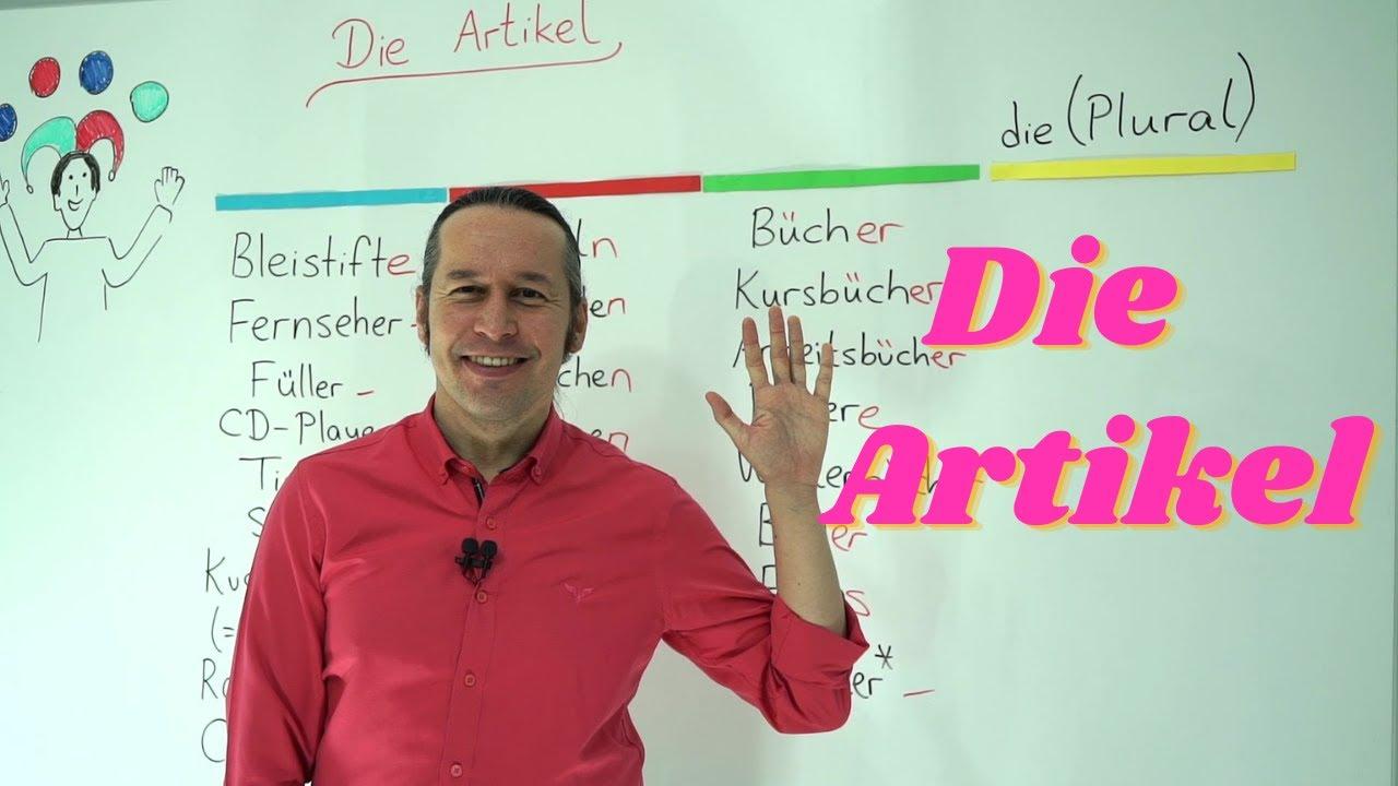 Almanca Temel A1/A2 Ders - 6 Almanca Artikeller der, die, das - Die Artikel