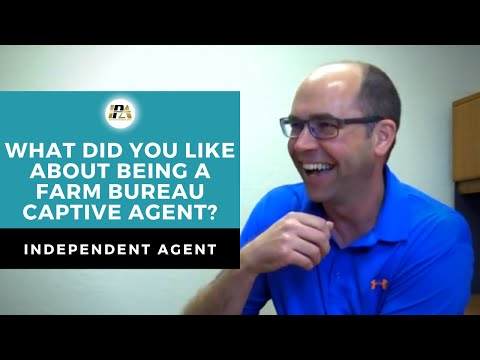 What did you like about being a Farm Bureau Agent