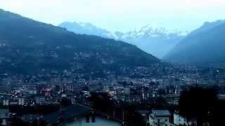 Aosta, Italy @ Dusk