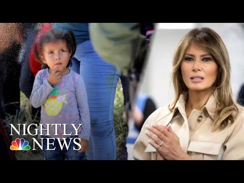 Protests Against Trump's Family Separation Policy As First Lady Weighs In | NBC Nightly News