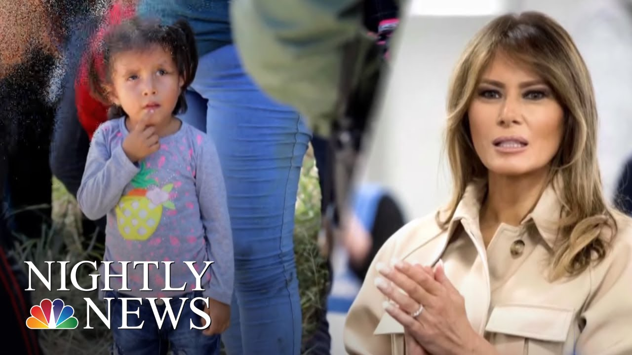 protests-against-trump-s-family-separation-policy-as-first-lady-weighs-in-nbc-nightly-news