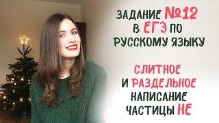 12 ЗАДАНИЕ в ЕГЭ по русскому языку: как выполнить + ТЕОРИЯ