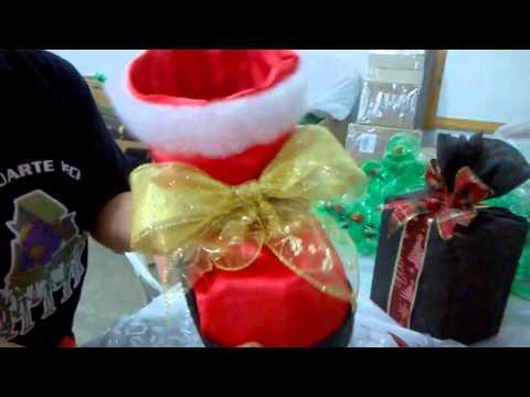 Como fazer botas de natal youtube for Como criar caracoles de jardin
