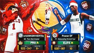 99 OVERALL PURE SHOT CREATOR VS POWER DF • MOST INTENSE GAME OF THE YEAR! NBA 2K19